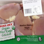 Trader Joe's Organic Free Range Boneless Skinless Chicken Thighs