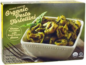 Trader Joe's Organic Pesto Tortellini
