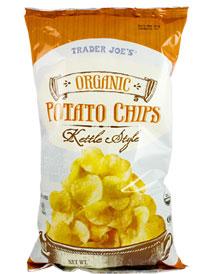 Trader Joe's Organic Kettle Style Potato Chips