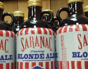 Trader Joe's Saranac Blueberry Blonde Ale