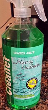 Trader Joe's Cleaning Spray