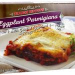 Trader Joe's Eggplant Parmigiana with Grilled Eggplant