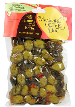 Trader Joe's Marinated Olive Duo with Lemon and Herbs