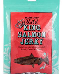 Trader Joe's Wild King Salmon Jerky