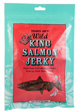 Trader Joe's Wild King Salmon Jerky