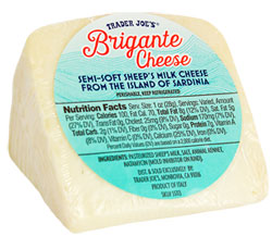Trader Joe's Brigante Cheese