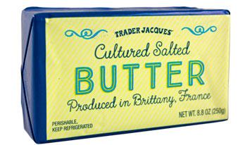 Trader Joe's Cultured Salted Butter