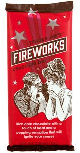 Trader Joe's Fireworks Chocolate Bar
