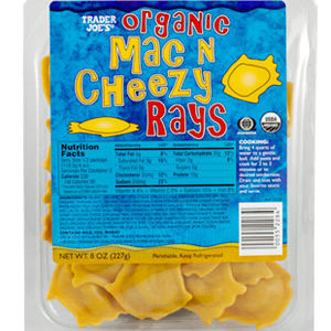 Trader Joe's Organic Mac N Cheezy Rays