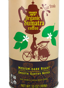 Trader Joe's Organic Sumatra Coffee