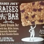 Trader Joe's Raises the Bar Dark Chocolate Granola Bar