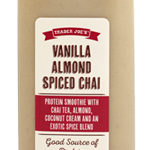 Trader Joe's Vanilla Almond Spiced Chai