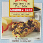 Trader Joe's Sweet, Savory & Tart Trail Mix Bars