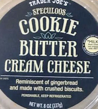 Trader Joe's Cookie Butter Cream Cheese