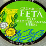 Trader Joe's Crumbled Feta with Mediterranean Herbs