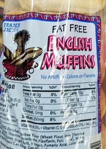 Trader Joe's Fat-Free English Muffins