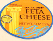 Trader Joe's Feta Cheese Block