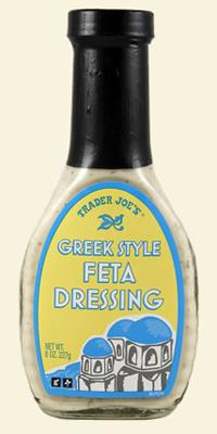 Trader Joe's Greek Style Feta Dressing