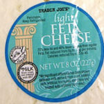Trader Joe's Light Feta Cheese