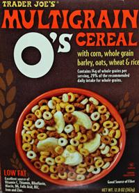 Trader Joe's O's Multigrain Cereal