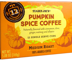 Trader Joe's Pumpkin Spice Coffee Single Serve Cups