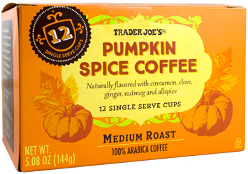 Trader Joe's Pumpkin Spice Coffee Single Serve Cups
