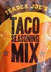 Trader Joe's Taco Seasoning Mix