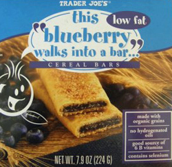 Trader Joe's This Blueberry Walks Into A Bar