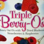 Trader Joe's Triple Berry O's