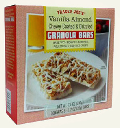 Trader Joe's Vanilla Almond Granola Bars
