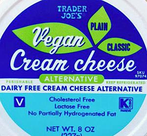 Trader Joe's Vegan Cream Cheese
