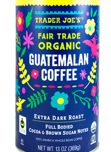 Trader Joe's Fair Trade Organic Guatemalan Coffee