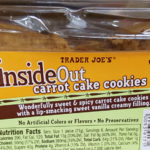 Trader Joe's Inside Out Carrot Cake Cookies