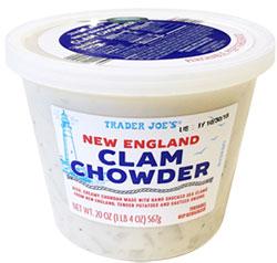 Trader Joe's New England Clam Chowder