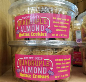 Trader Joe's Quadruple Almond Butter Cookies