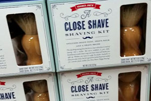 Trader Joe's Close Shave Shaving Kit