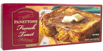 Trader Joe's Panettone French Toast