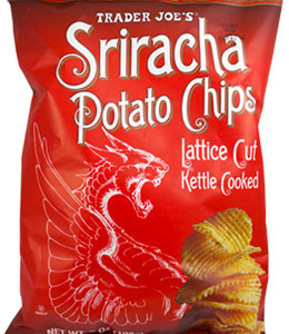 Trader Joe's Sriracha Potato Chips