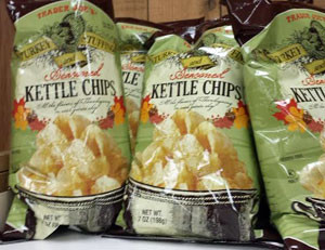 Trader Joe's Turkey Stuffing Seasonal Kettle Chips
