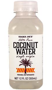 Trader Joe's 100% Pure Coconut Water