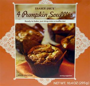 Trader Joe's 4 Pumpkin Souffles