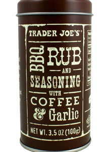 Trader Joe's BBQ Rub & Seasoning with Coffee & Garlic