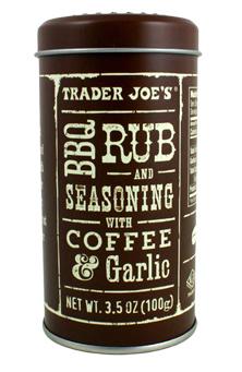 Trader Joe's BBQ Rub & Seasoning with Coffee & Garlic