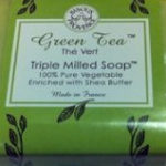 Bisous de Provence Green Tea The Vert Triple Milled Soap