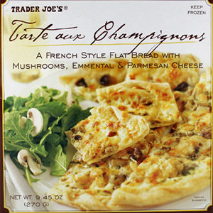 Trader Joe's Tarte aux Champignons