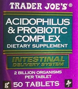 Trader Joe's Acidophilus & Probiotic Complex Reviews - Trader Joe's
