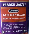 Trader Joe's Acidophilus Supplement