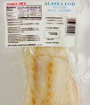 Trader Joe's Alaska Cod Fillets