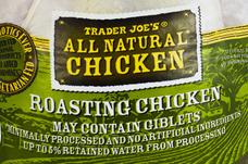 Trader Joe's All Natural Roasting Chicken