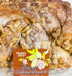 Trader Joe's Almond Ring Danish